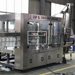 回转式山泉水灌装生产线CGF8-8-4