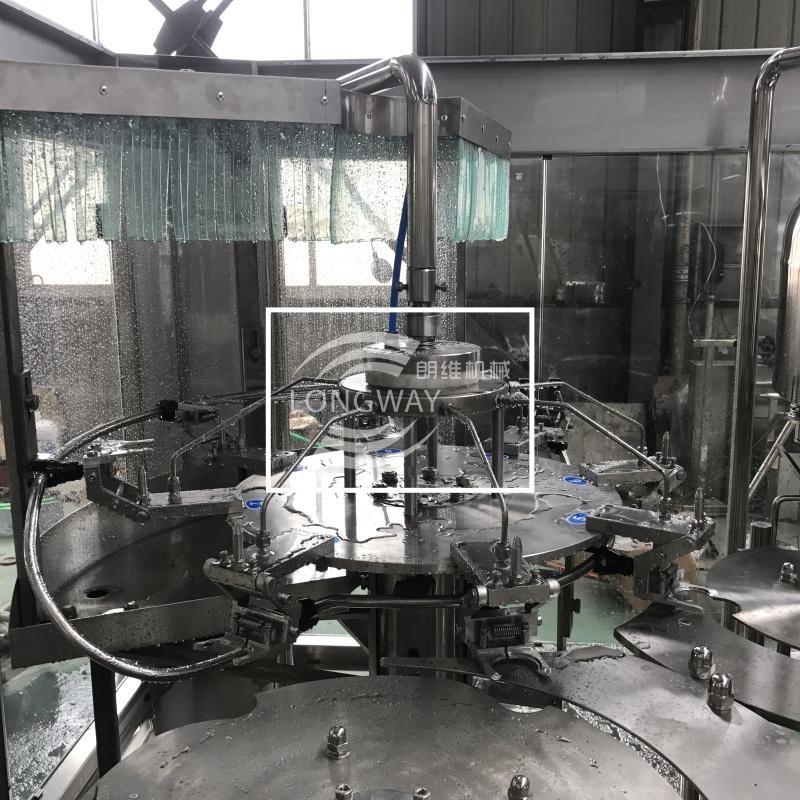 迴轉式山泉水灌裝生產線CGF8-8-4 2