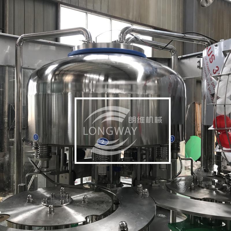 回转式山泉水灌装生产线CGF8-8-4 3