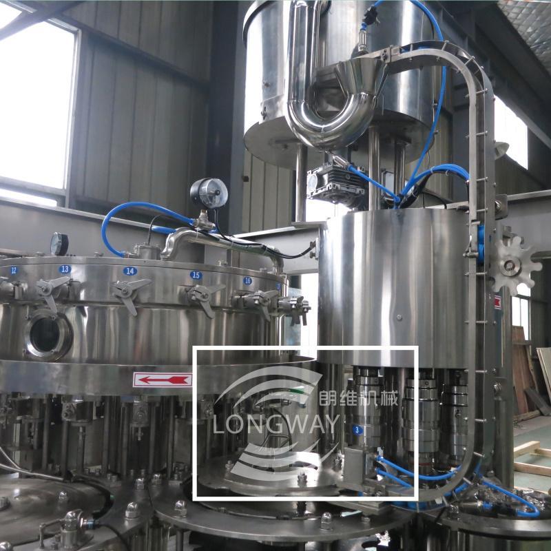 DCGF18-18-6 PET瓶含氣飲料灌裝機 3