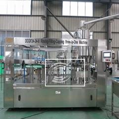 DCGF24-24-8 全自動含氣飲料生產線/等壓灌裝設備