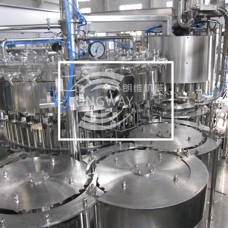 DCGF40-40-12 汽水飲料三合一灌裝設備 含氣飲料灌裝機 3
