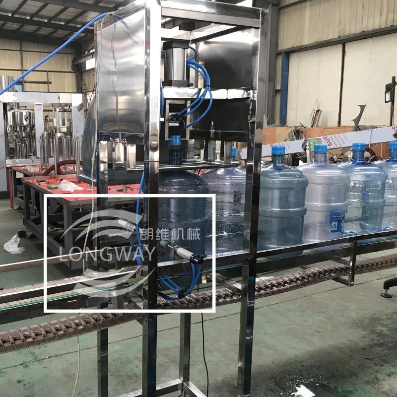 QGF- 450桶/小时饮用水大桶灌装机 4