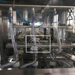 QGF-600 3 In 1 Filling Technology For Automatic Barrel Water Filling Machine