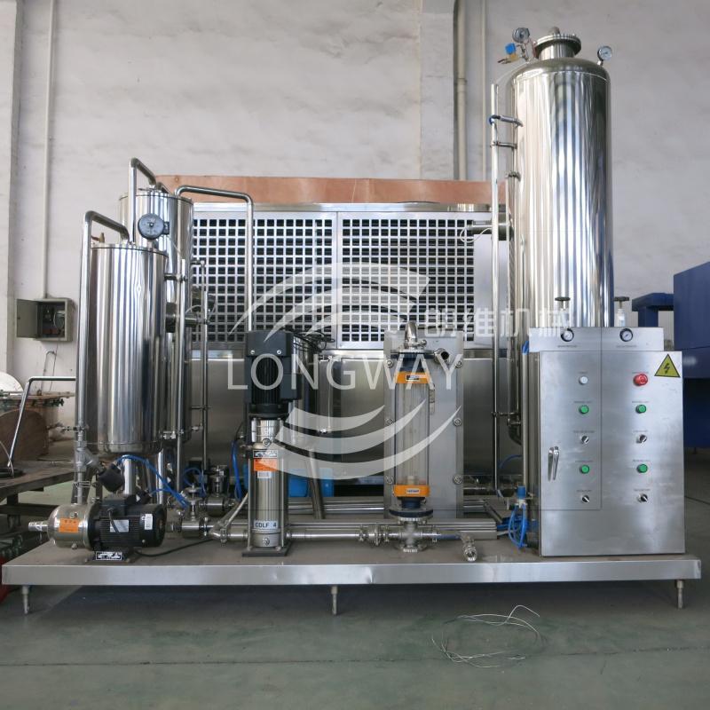 QHS 系列 三桶飲料混合機 1