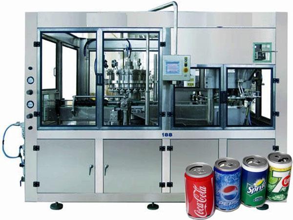 易拉罐含氣飲料灌裝機 1