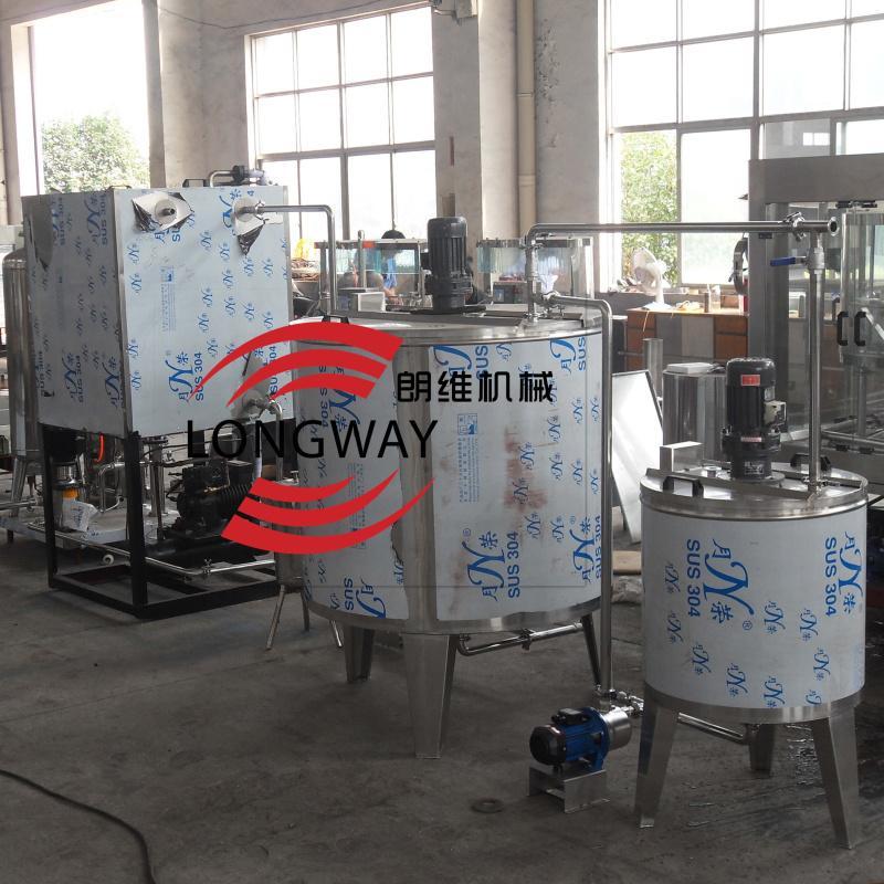 含气饮料调配生产线  混合机设备 1