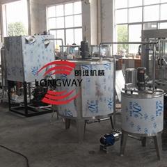 含氣飲料調配生產線  混合機設備