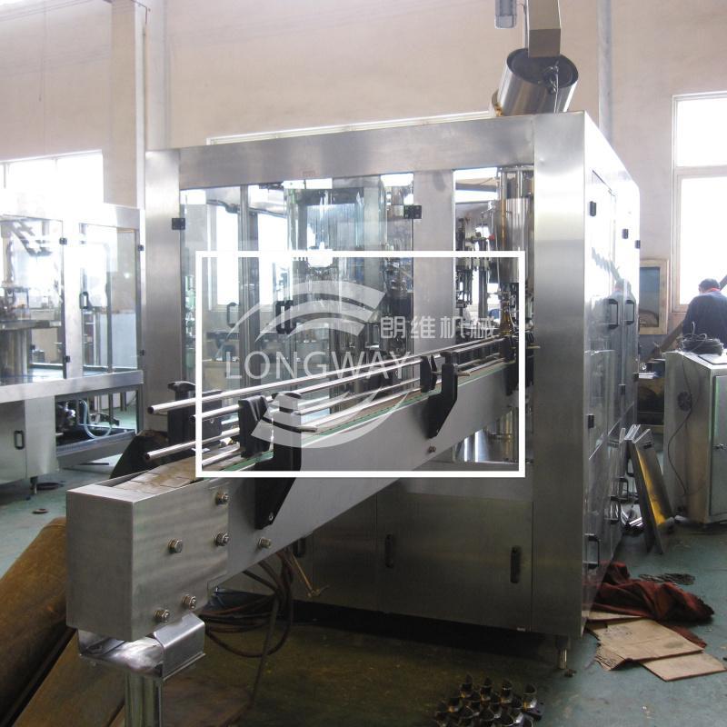 低(无)醇啤酒三合一灌装机 BDGF18-18-6 啤酒灌装设备 1