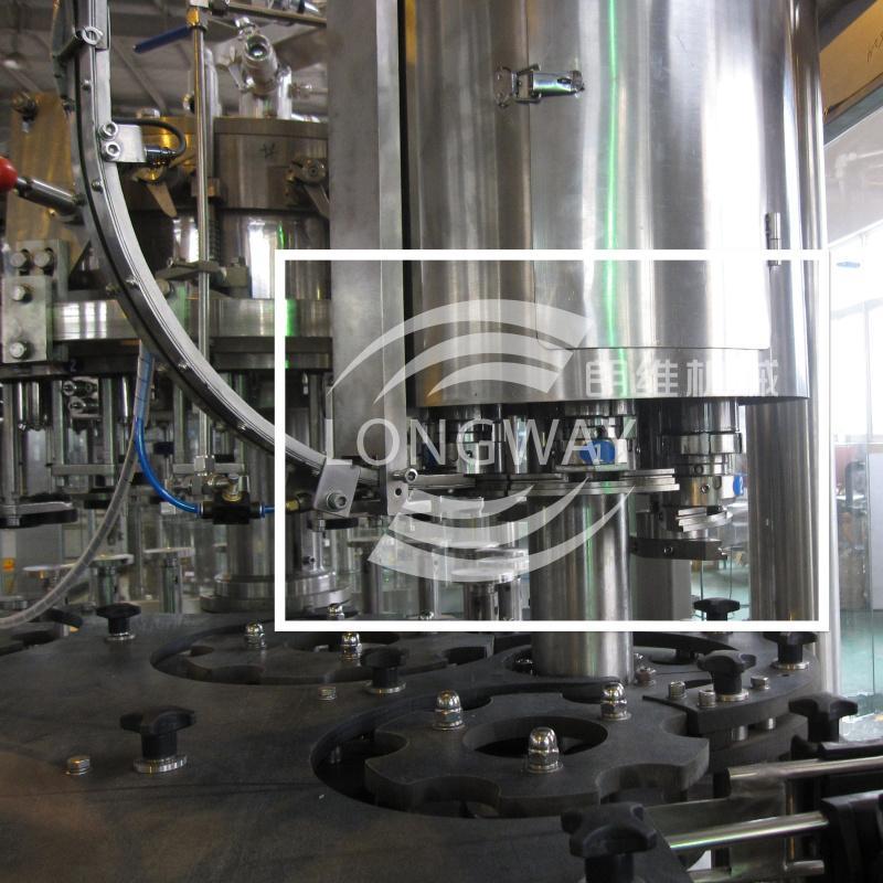 低(无)醇啤酒三合一灌装机 BDGF18-18-6 啤酒灌装设备 4