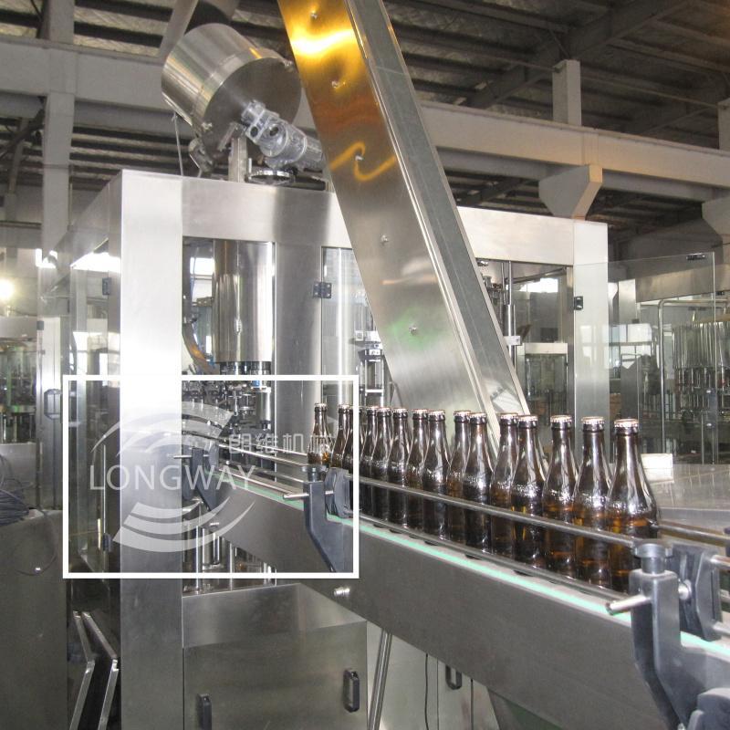 低(无)醇啤酒三合一灌装机 BDGF18-18-6 啤酒灌装设备 5