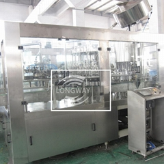 Aluminum Cap Glass Bottle Rinsing Filling Capping  3-IN -1 unit