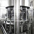 扁瓶玻璃瓶威士忌灌裝機 扁瓶鋁蓋白酒沖洗灌裝旋蓋一體機 4