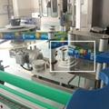 automatic  hot melt Labeling Machine for juice factory