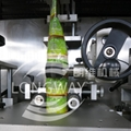 Full automatic bottle labeling machine Wtih steam generator
