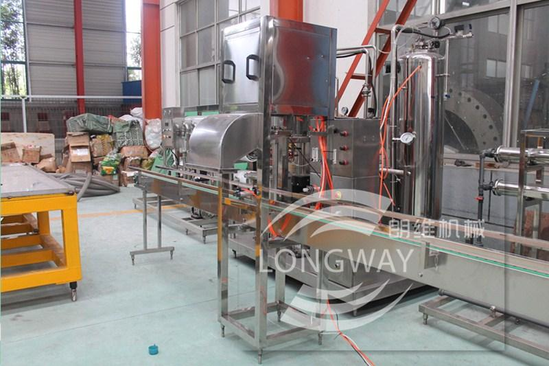 600桶純淨水桶裝灌裝設備,20L礦泉水灌裝生產線 4