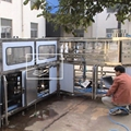 QGF-300 5 Gallon production line with risning filling capping