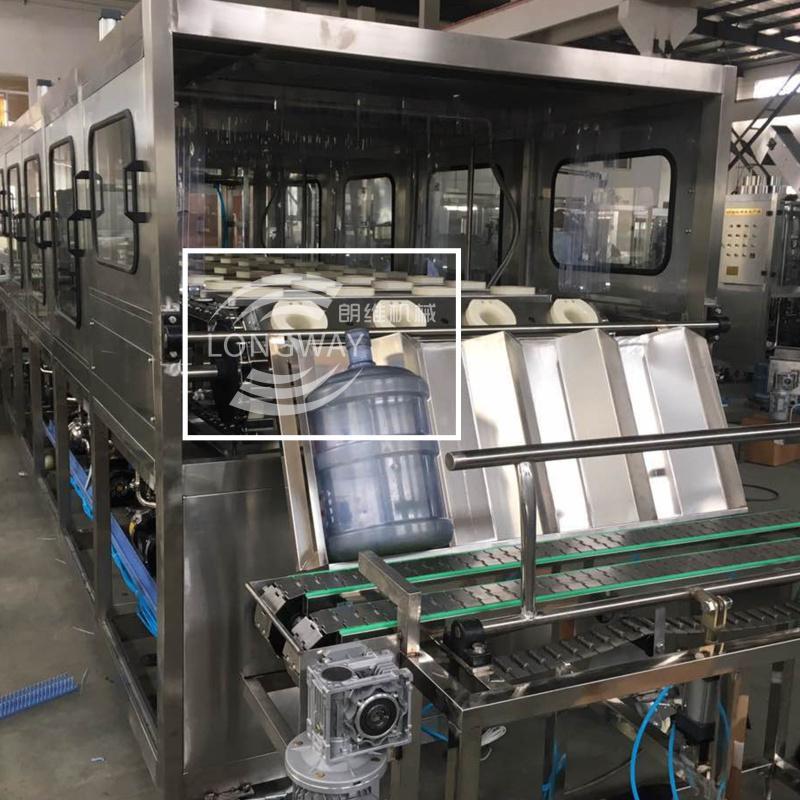 19L 600 桶 3-5加仑大桶灌装设备 液体矿泉水桶装水灌装机械 1