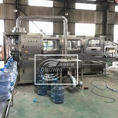 小型桶装水灌装机设备 桶装纯净水全自动生产设备