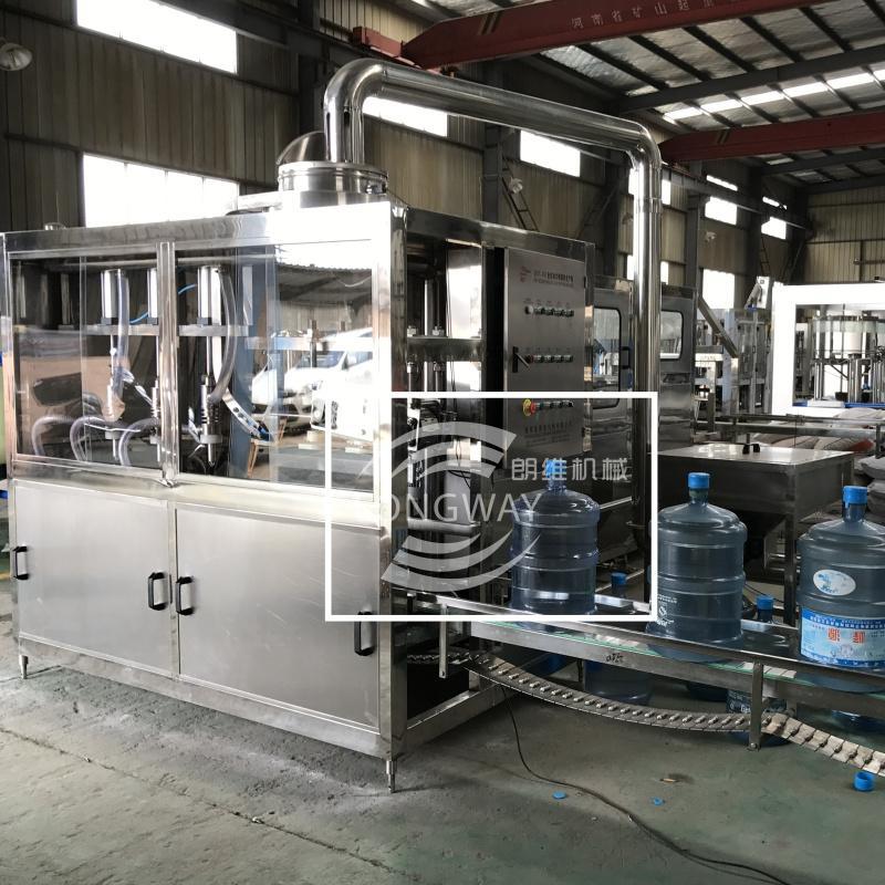 小型桶裝水灌裝機設備 桶裝純淨水全自動生產設備 4