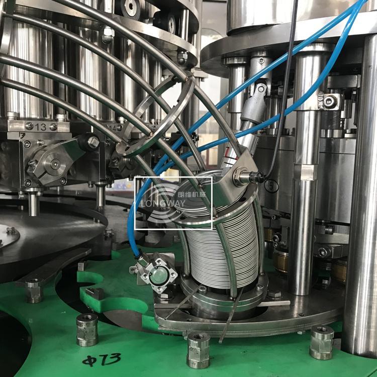 朗维高速高精度回转式全自动番茄酱灌装机 活塞酱料灌装机 5