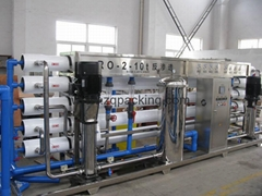 RO water treatment equipment for