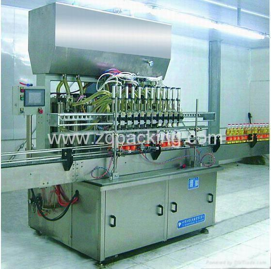 Edible Oil and Lubricating oil Filling Machine 1