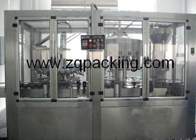 monobloc wine filling line /wine packing machine ,cork stopper  1