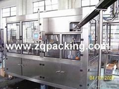 aluminum can filling &sealing machine