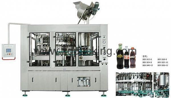BDGF18-18-6玻璃瓶冲瓶 灌装封盖机 1