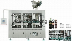 Glass bottle filling&capping machine