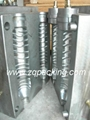 bottle mould for semi type blowing