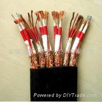 YGCB耐高溫硅橡膠扁電纜