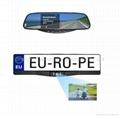European License Plate Frame Car 2.4 GHz Wireless Camera