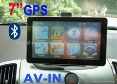 OEM Bluetooth Handsfree 7 inch HD Touch Screen Car GPS Navigation