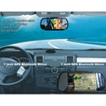 7 Inch GPS Mirror Navigation High Definition Bluetooth Handsfree 5