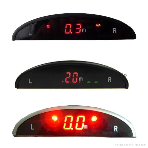 LED Display Car Parking Reverse Sensor System