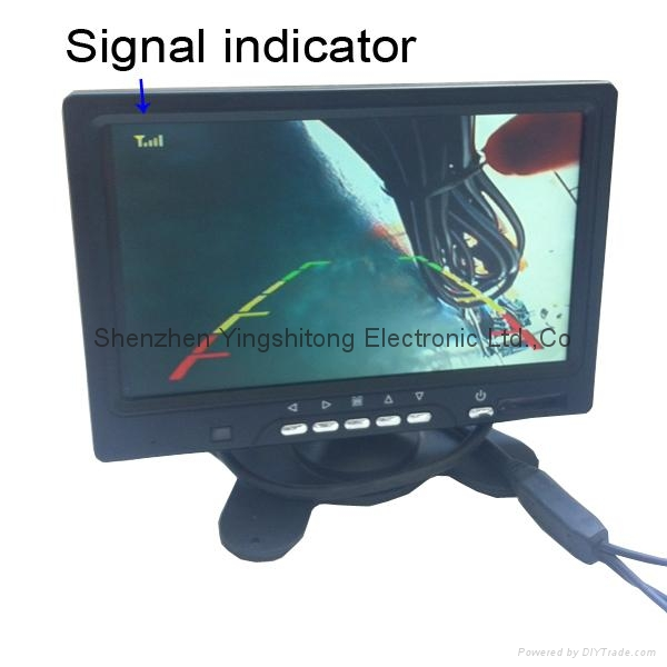 Never Interference 7 inch Monitor Digital Wireless Reversing Cameras for Caravan