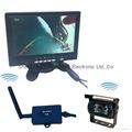Never Interference 7 inch Monitor Digital Wireless Reversing Cameras for Caravan 2