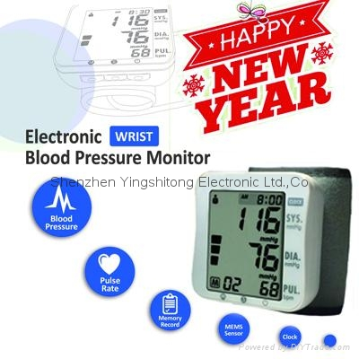 Hot Sales Digital Wrist Blood Pressure Monitor Factory Price Most popular