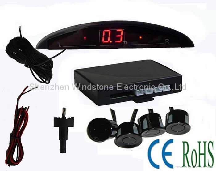 Mini LED Display Car Parking Sensor System(RD028C4) 1