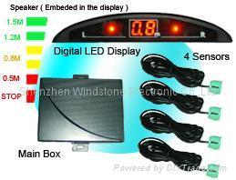 Mini LED Display Car Parking Sensor System(RD028C4) 2