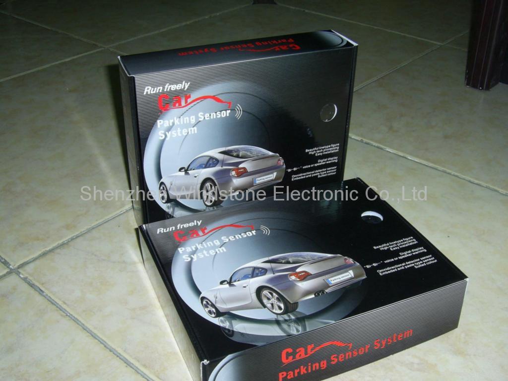 Mini Led Display Car Parking Sensor System Rd028c4