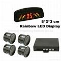 Rainbow LED Display Car Parking Sensor System (RD036C4) 2