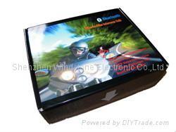 Motorcycle Helmet Headset Intercom Bluetooth Handsfree Moto 3