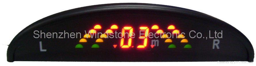 Rainbow Display Car Parking Sensor System Car Sensor Wireless System(WRD039) 2