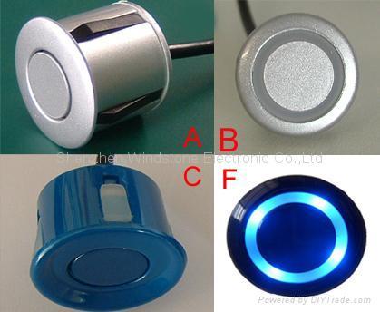 Rainbow Display Car Parking Sensor System Car Sensor Wireless System(WRD039) 3