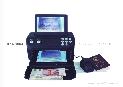 Banknotes and Document Detector 1