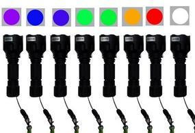 Criminal Light portable multi-channel light source