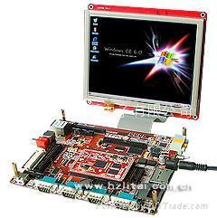 立宇泰S3C6410開發板+8.0寸TFT液晶屏+WIFI 1